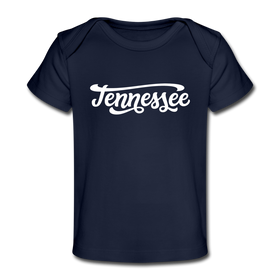 Tennessee Baby T-Shirt - Organic Hand Lettered Tennessee Infant T-Shirt