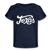 Texas Baby T-Shirt - Organic Hand Lettered Texas Infant T-Shirt