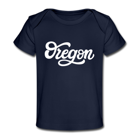 Oregon Baby T-Shirt - Organic Hand Lettered Oregon Infant T-Shirt