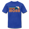 Moab, Utah T-Shirt - Retro Mountain Unisex Moab T Shirt - royal blue