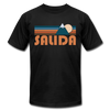 Salida, Colorado T-Shirt - Retro Mountain Unisex Salida T Shirt - black