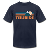 Telluride, Colorado T-Shirt - Retro Mountain Unisex Telluride T Shirt