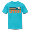 Utah T-Shirt - Retro Mountain Unisex Utah T Shirt
