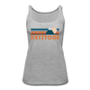 Keystone, Colorado Women's Tank Top - Retro Mountain Women's Keystone Tank Top - heather gray