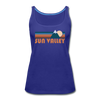 Sun Valley, Idaho Women's Tank Top - Retro Mountain Women's Sun Valley Tank Top - royal blue