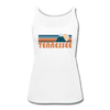 Tennessee Women's Tank Top - Retro Mountain Women's Tennessee Tank Top - white