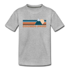 Colorado Springs, Colorado Youth T-Shirt - Retro Mountain Youth Colorado Springs Tee - heather gray