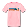 Jackson Hole, Wyoming Toddler T-Shirt - Retro Mountain Jackson Hole Toddler Tee - pink
