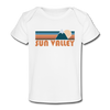 Sun Valley, Idaho Baby T-Shirt - Organic Retro Mountain Sun Valley Infant T-Shirt