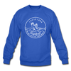 Louisiana Sweatshirt - State Design Louisiana Crewneck Sweatshirt