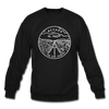 Nevada Sweatshirt - State Design Nevada Crewneck Sweatshirt - black