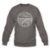Nevada Sweatshirt - State Design Nevada Crewneck Sweatshirt - asphalt gray