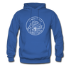 Connecticut Hoodie - State Design Unisex Connecticut Hooded Sweatshirt - royal blue