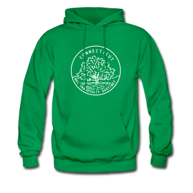 Connecticut Hoodie - State Design Unisex Connecticut Hooded Sweatshirt