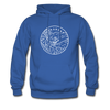 Arkansas Hoodie - State Design Unisex Arkansas Hooded Sweatshirt - royal blue