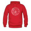 Arkansas Hoodie - State Design Unisex Arkansas Hooded Sweatshirt
