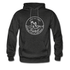 Louisiana Hoodie - State Design Unisex Louisiana Hooded Sweatshirt