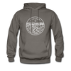 Missouri Hoodie - State Design Unisex Missouri Hooded Sweatshirt - asphalt gray