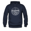 Missouri Hoodie - State Design Unisex Missouri Hooded Sweatshirt - navy