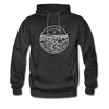 Missouri Hoodie - State Design Unisex Missouri Hooded Sweatshirt - charcoal gray