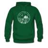 South Carolina Hoodie - State Design Unisex South Carolina Hooded Sweatshirt - forest green