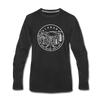 Alabama Long Sleeve T-Shirt - State Design Unisex Alabama Long Sleeve Shirt - black