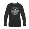 Colorado Long Sleeve T-Shirt - State Design Unisex Colorado Long Sleeve Shirt - black