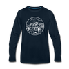Colorado Long Sleeve T-Shirt - State Design Unisex Colorado Long Sleeve Shirt - deep navy