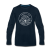 Connecticut Long Sleeve T-Shirt - State Design Unisex Connecticut Long Sleeve Shirt
