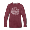 Idaho Long Sleeve T-Shirt - State Design Unisex Idaho Long Sleeve Shirt