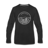 Kentucky Long Sleeve T-Shirt - State Design Unisex Kentucky Long Sleeve Shirt - black