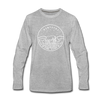 Kentucky Long Sleeve T-Shirt - State Design Unisex Kentucky Long Sleeve Shirt - heather gray