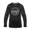 Maryland Long Sleeve T-Shirt - State Design Unisex Maryland Long Sleeve Shirt - charcoal gray
