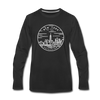New York Long Sleeve T-Shirt - State Design Unisex New York Long Sleeve Shirt - black