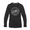 Wisconsin Long Sleeve T-Shirt - State Design Unisex Wisconsin Long Sleeve Shirt - black