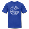 Maine T-Shirt - State Design Unisex Maine T Shirt - royal blue