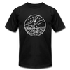 Maine T-Shirt - State Design Unisex Maine T Shirt - black