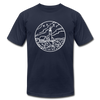 Maine T-Shirt - State Design Unisex Maine T Shirt - navy