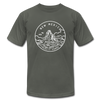 New Mexico T-Shirt - State Design Unisex New Mexico T Shirt - asphalt