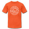 Tennessee T-Shirt - State Design Unisex Tennessee T Shirt - orange