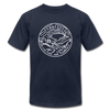 Tennessee T-Shirt - State Design Unisex Tennessee T Shirt - navy