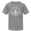 Texas T-Shirt - State Design Unisex Texas T Shirt - slate