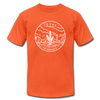 Texas T-Shirt - State Design Unisex Texas T Shirt - orange