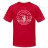 Texas T-Shirt - State Design Unisex Texas T Shirt - red