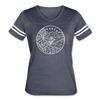 Arkansas Women's Vintage Sport T-Shirt - State Design Women's Arkansas Shirt