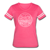 Idaho Women's Vintage Sport T-Shirt - State Design Women's Idaho Shirt