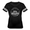 Washington Women's Vintage Sport T-Shirt - State Design Women's Washington Shirt