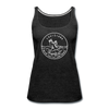 Louisiana Women's Tank Top - State Design Women's Louisiana Tank Top