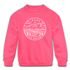 Idaho Youth Sweatshirt - State Design Youth Idaho Crewneck Sweatshirt