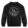 Louisiana Youth Sweatshirt - State Design Youth Louisiana Crewneck Sweatshirt